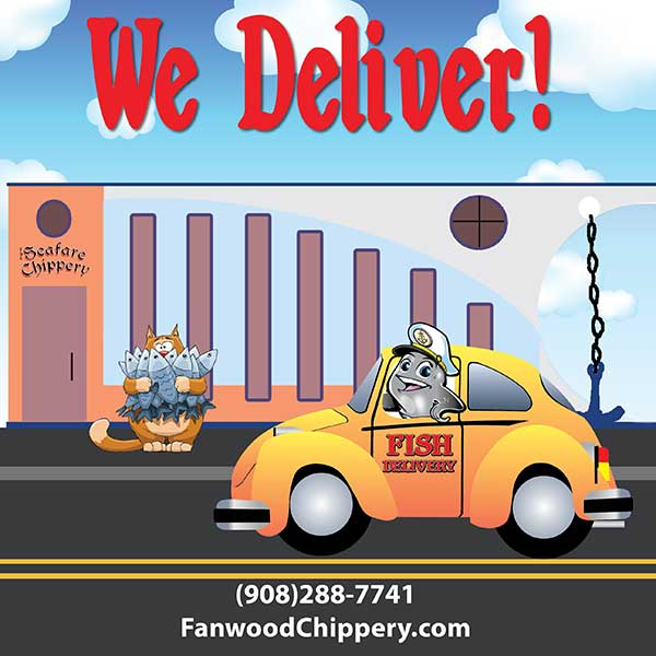Have your seafood delivered by the Chippery in Fanwood NJ