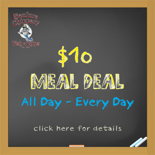 $7 and $10 Meal Deals at the Fanwood Chippery