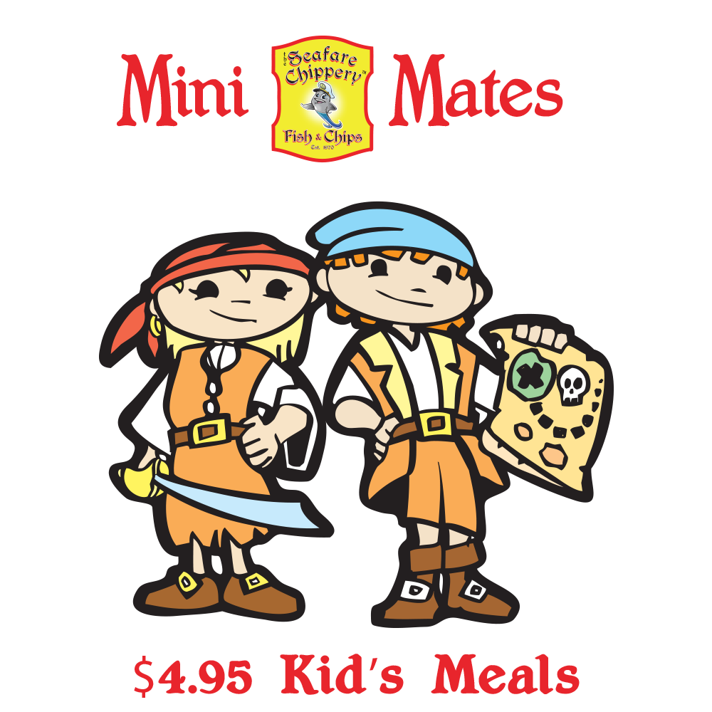 Kids' Meals only $4.95