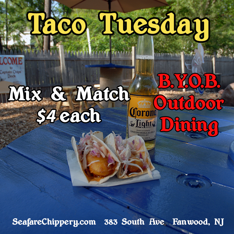 Chippery Taco Tuesday - Buy a sack at $4 each